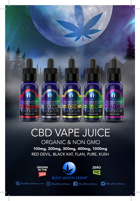 CBD & Hemp Oil Vape Liquids